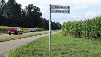 Über Winterhalden und Höfen das Zentrum Sins umfahren, um in die Hauptstrasse zu gelangen, soll künftig zu den Hauptpendlerzeiten untersagt sein.