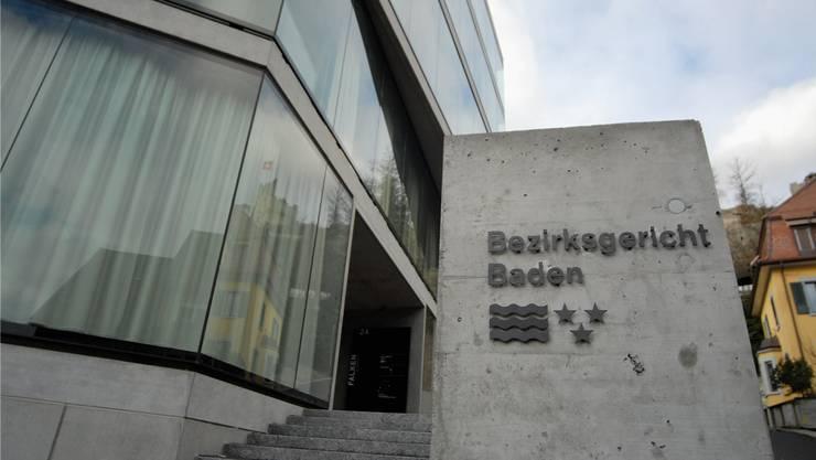 Wer zieht am 25. September neu ins Bezirksgericht Baden ein?archiv