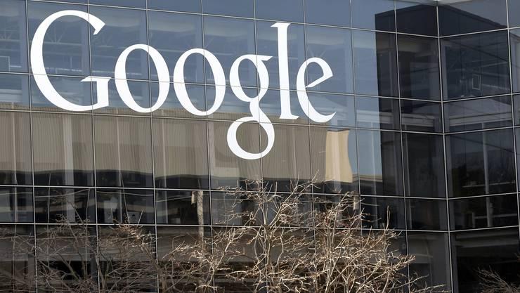 Der Hauptsitz von Google in Mountain View, Kalifornien.