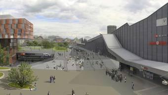 So soll der SBB-Bahnhof in Basel aufgewertet werden