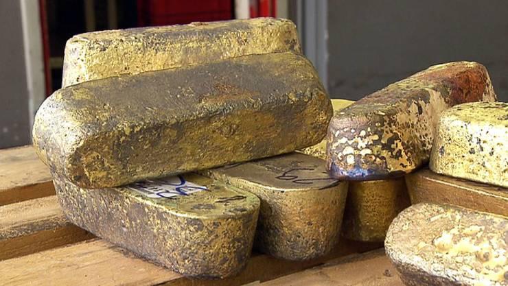 Die Schweiz hat Tonnen von Rohgold aus Eritrea importiert.