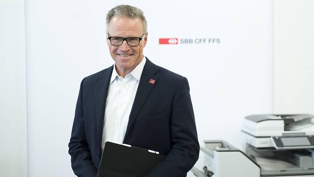 Der abgetretene SBB-Chef Andreas Meyer erhielt im vergangenen Jahr die höchste Entlöhnung unter den Topkadern der bundesnahen Betriebe. (Archivbild)