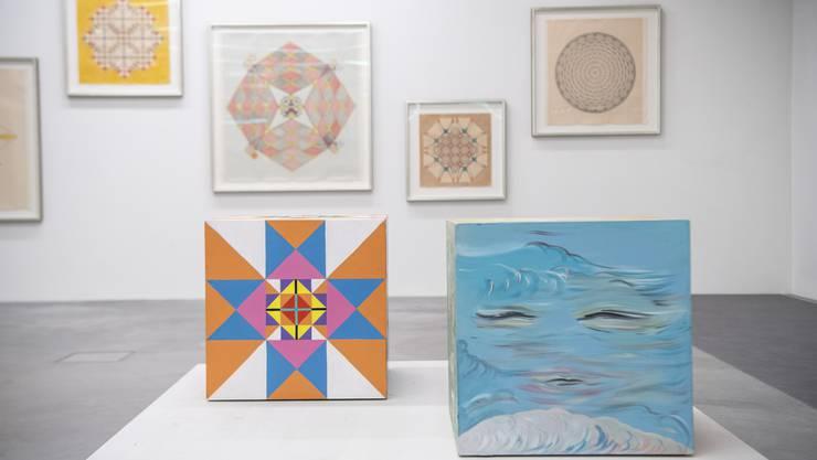 Ausstellung: Emma Kunz (Foto: Ralph Ribi)
