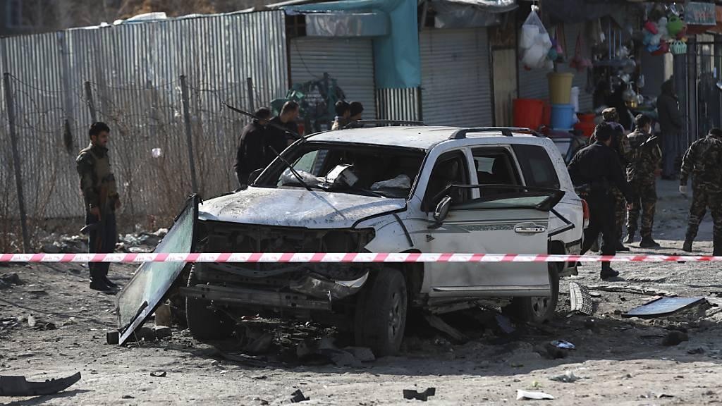 Vize-Gouverneur bei Anschlag in Kabul getötet