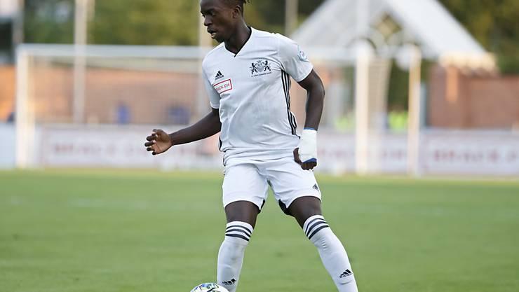 Roland Ndongo erzielt beide Tore für Stade Lausanne-Ouchy