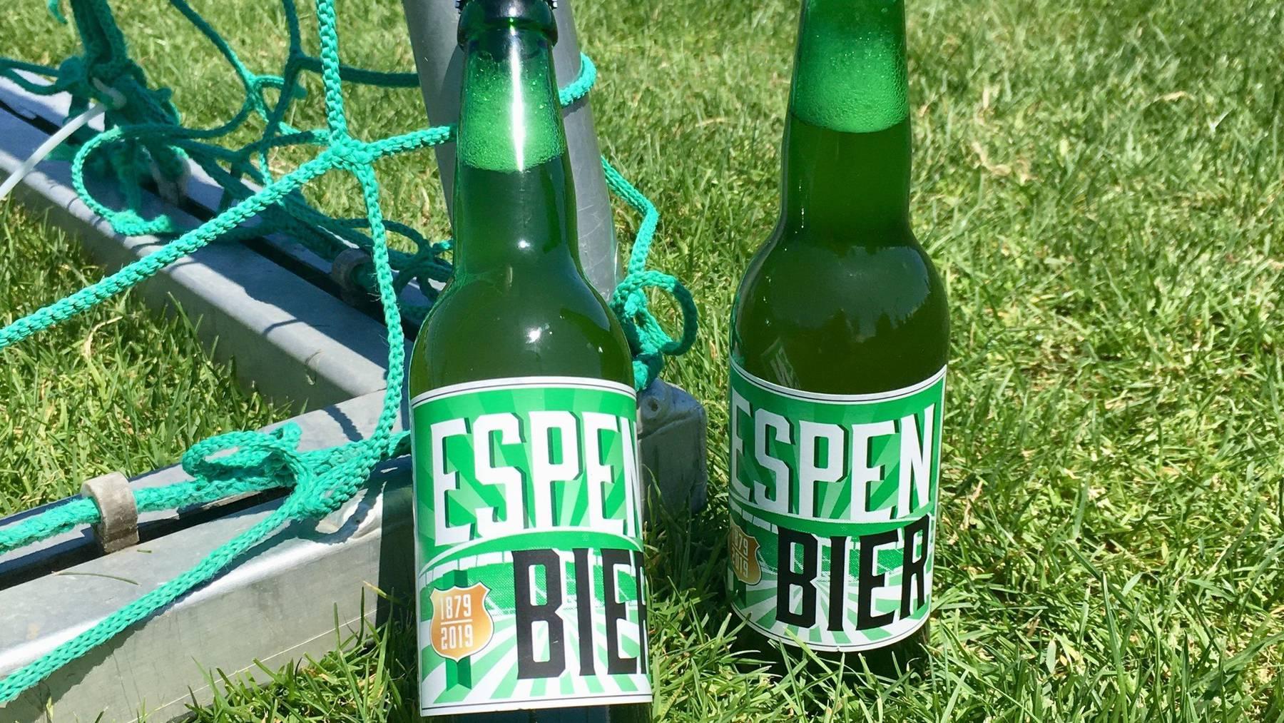 Für einen guten Zweck: das neue Fan-Bier