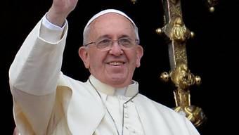 Papst Franziskus am Weihnachtstag auf dem Balkon des Petersdoms