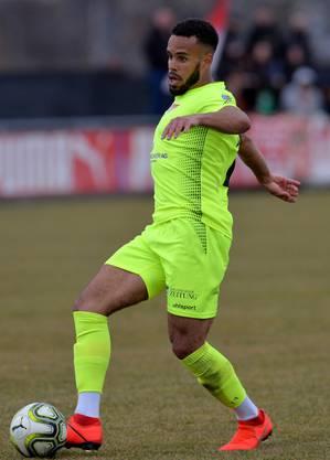 Steven Ukoh schoss in seinem ersten Match das 1:0 für Solothurn.