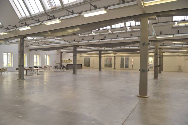 Die Hallen der ehemaligen Hanro-Fabrik.