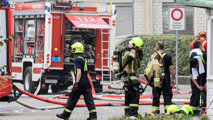 Bei den Bränden wurde niemand verletzt. (Symbolbild)