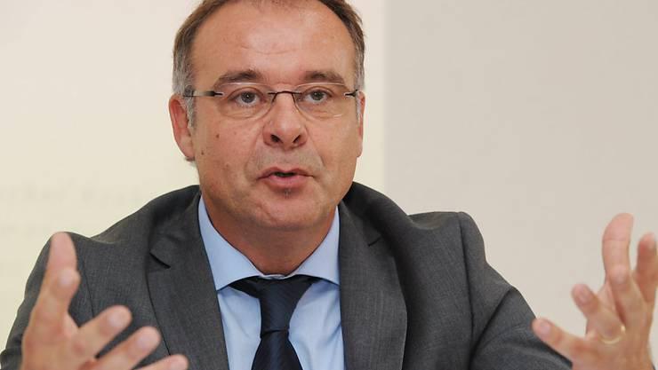Bankenombudsman Marco Franchetti hatte 2014 etwas weniger Anfragen auf seinem Tisch. (Archiv)