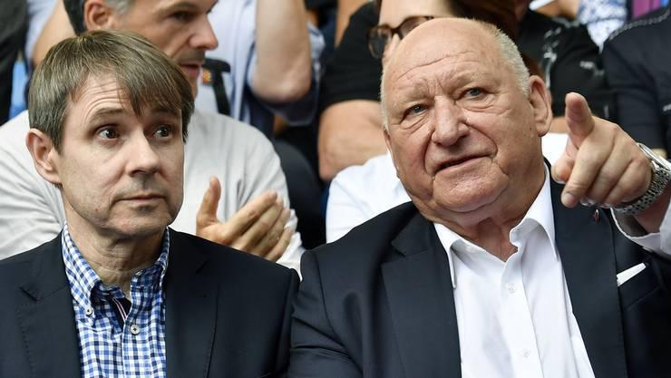 «Bernhard Burgener und ich sind seit 30 Jahren Freunde. Ich kenne keinen genialeren Mann als ihn. Bernhard ist allen Leuten gedanklich immer einen Schritt voraus. Wenn er Zeit hat, koche ich für ihn. Dann reden wir natürlich immer über den FC Basel. Dass er mir vertraut und ich für den FCB arbeiten darf, ist grossartig.»