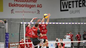 Volleyball NLA, Volley Schönenwerd - Lutry-Lavaux (20.01.2020)