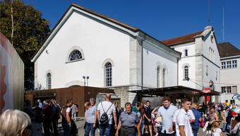 Die Reithalle als das eigentliche «Epizentrum» der Herbstmesse HESO soll aufgewertet werden.