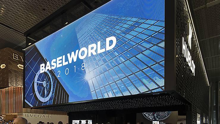 Abgang von Swatch: Die Uhren- und Schmuckmesse Baselworld soll in den kommenden Jahren auch ohne den grössten und wichtigsten Schweizer Uhrenhersteller stattfinden. (Archiv)