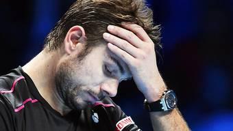 Kopfzerbrechen: Stan Wawrinka muss sich heute gegen David Ferrer deutlich steigern, wenn er seine Halbfinalchancen wahren will