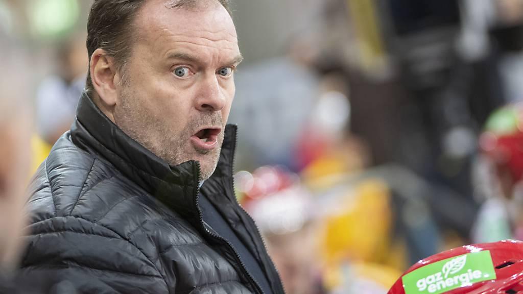 Ehlers nächste Saison nicht mehr Trainer der SCL Tigers