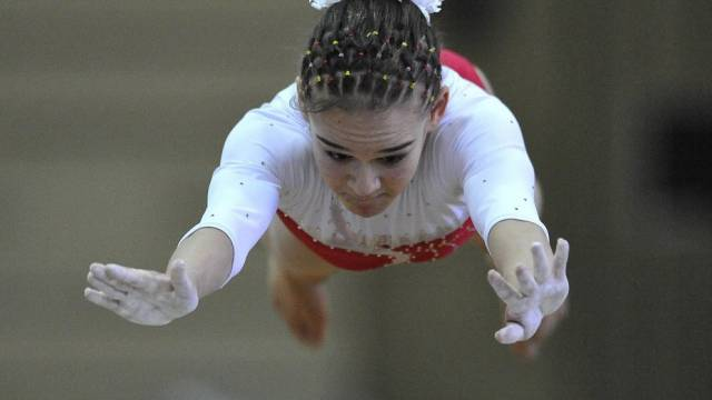 Sara Catanzaro trotz Knieverletzung im Mehrkampffinal