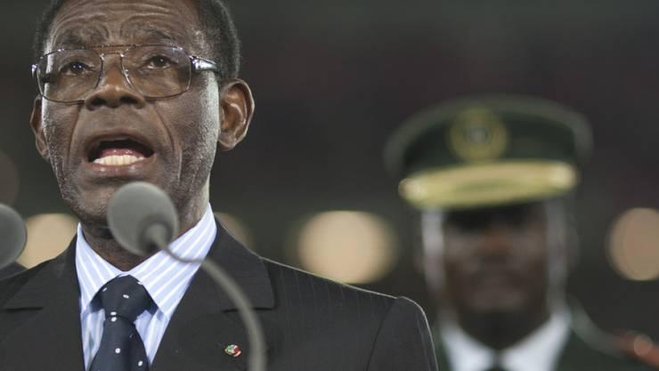 Teodoro Obiang führt das ölreiche zentralafrikanische Land seit einem Staatsstreich im Jahr 1979. (Archivbild)