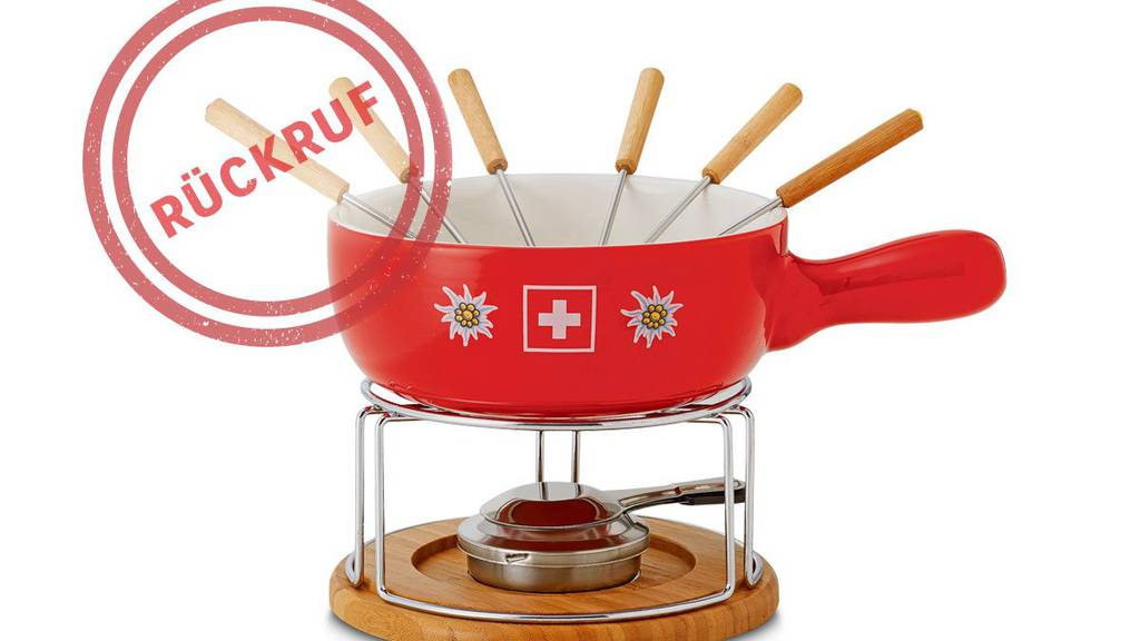 Hält grosser Hitze nicht stand: Das «Swiss Fondue rot» von Coop.
