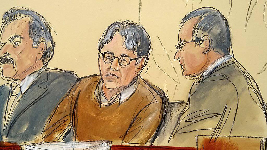 Frauen aufs übelste ausgebeutet: Der schuldig gesprochene Sex-Guru Keith Raniere vor Gericht in New York.