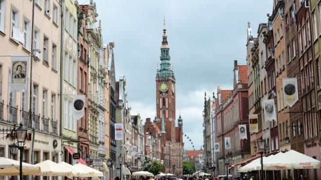Die Marienkirche prägt das Stadtbild von Danzig. Foto: Samuel Schumacher