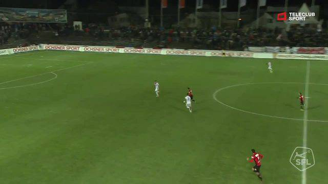 Challenge League, 2017/2018, 17. Runde, FC Aarau - Chiasso, 3:0 Michael Perrier