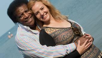 """Schlagersänger Roberto Blanco und Ehefrau Luzandra ist glücklicherweise nichts passiert - ihr Haus in Kuba wurde vom Hurrikan """"Irma"""" allerdings total verwüstet. (Archivbild)"""