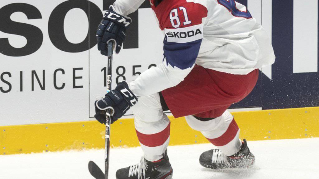 Kubalik unterschrieb Vertrag bei den Blackhawks