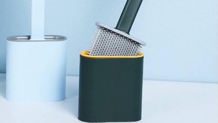 «Flache Silikon-Toilettenbürste» von Yefa.de