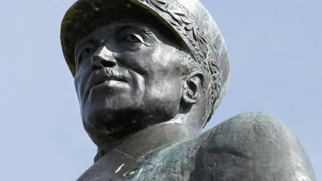 Statue von General Henri Guisan in Lausanne (Symbolbild)