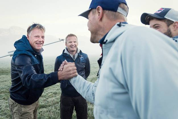 In ihrem Projekt arbeiten sie mit dem Österreicher Segelflugteam Blanix zusammen.