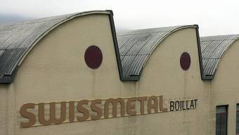 Swissmetal-Gebäude in Reconvilier.