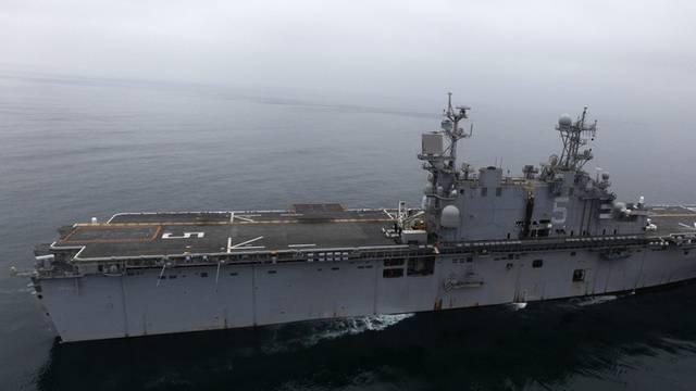 Das amerikanische Schiff USS Peleliu (Symbolbild)