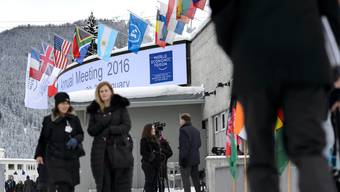Das Kongresszentrum im Davos - hier treffen sich die WEF-Teilnehmer.