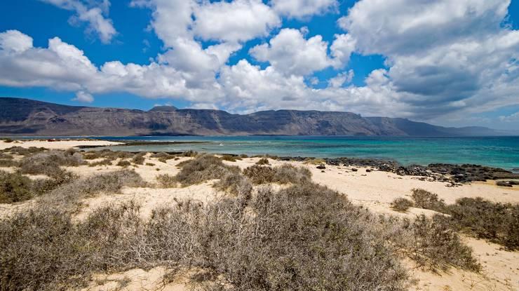 Wie hier an der Playa Francesca auf der Insel Graciosa.
