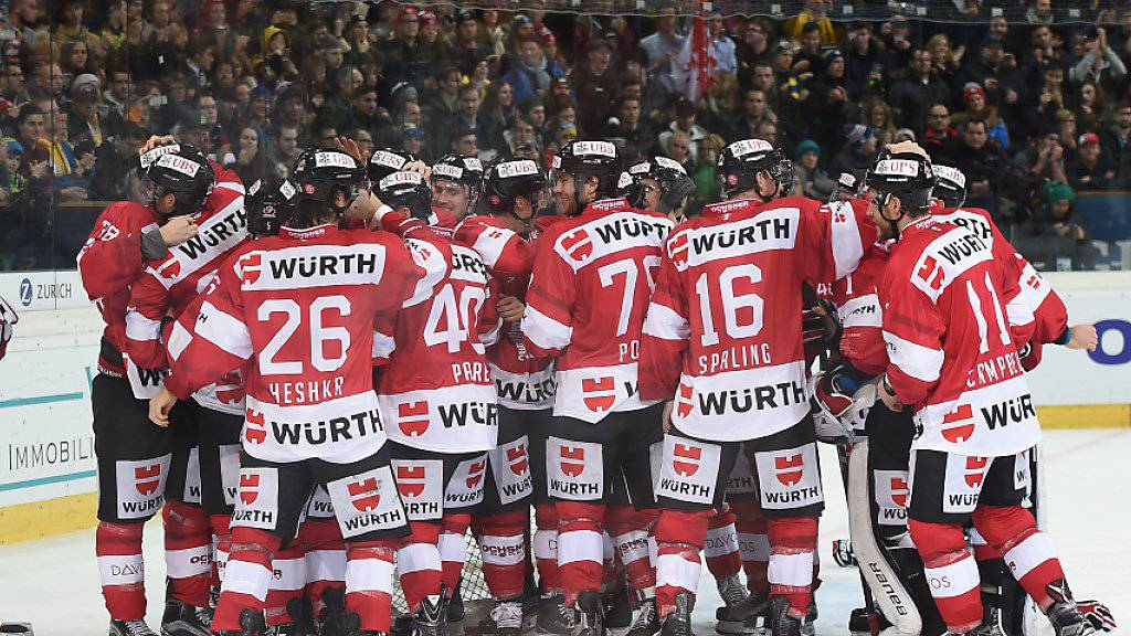 Das Team Canada tritt als Titelverteidiger zum 91. Spengler Cup an