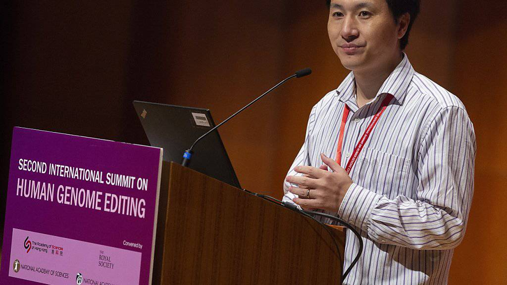 Forscher verteidigt Gen-Experimente an Babys