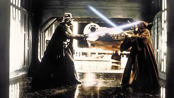 Kampf mit Lichtschwertern