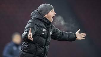 Muss sich das Spiel von der Tribüne aus ansehen und rechnet mit einer hart umkämpften Partie: FCZ-Trainer Ludovic Magnin.