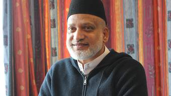 Farid Ahmed, 57, entkam dem Kugelhagel in der Al-Noor-Moschee nur knapp.