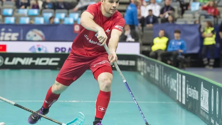Tim Braillard rettet die Schweiz mit seinem Treffer vor der Blamage gegen Norwegen