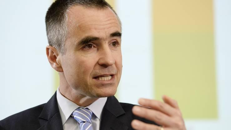 Mit 810 000 Franken gehört Helsana-Chef Daniel Schmutz zu den Topverdienern der Branche. (Archivbild)