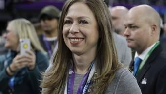 Die Freude ist gross: Chelsea Clinton, Tochter des früheren US-Präsidenten Bill Clinton und dessen Frau Hillary, ist zum dritten Mal schwanger. (Archivbild)