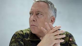 Armeechef André Blattmann entschuldigt sich für seine verbale Entgleisung. (Archiv)