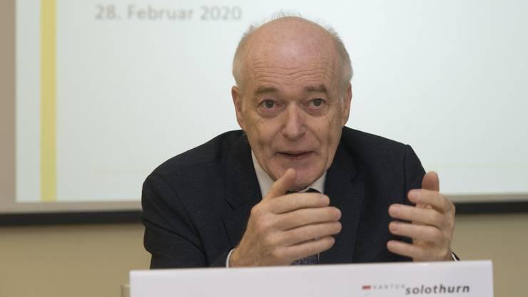 Martin Würsten blickt auf 12 Jahre als Chef des Amtes für Umwelt (AfU) zurück.