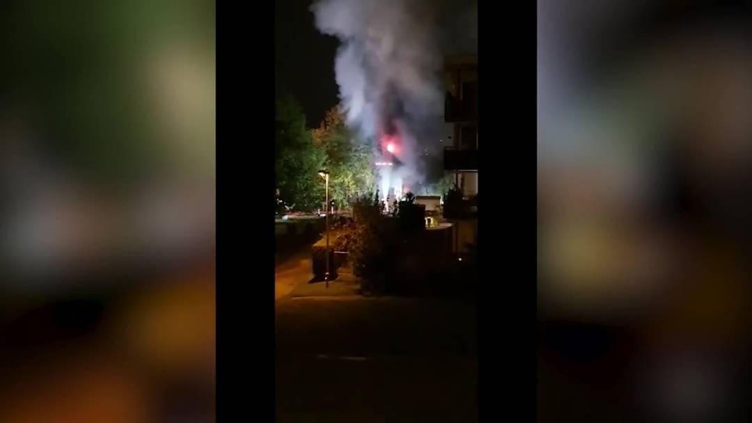 So wütete der Brand im Menziker Einfamilienhaus
