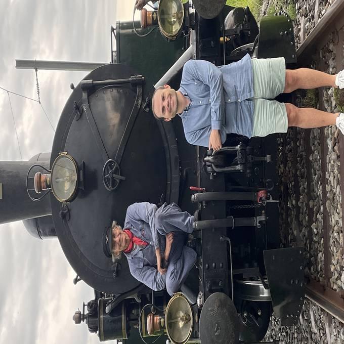 Viel Nostalgie mit dem Dampfbahn-Verein Zürcher Oberland