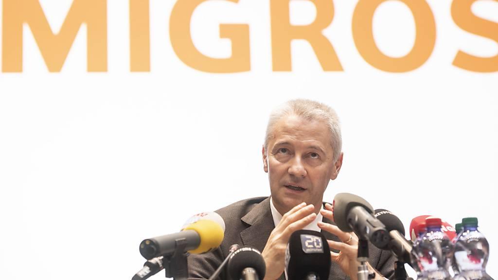 Fabrice Zumbrunnen, seit drei Jahren Präsident der Generaldirektion des Migros-Genossenschafts-Bundes, rechnet für das Geschäftsjahr 2020 mit einem guten Geschäftsabschluss. (Archivbild)