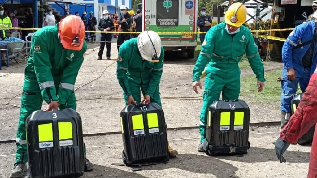 Explosion in Mine in Kolumbien - zwölf Tote